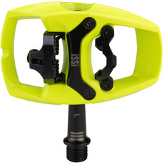 """iSSi iSSi Flip III Pedals - Single Side Clipless with Platform, Aluminum, 9/16"""", Yellow"""