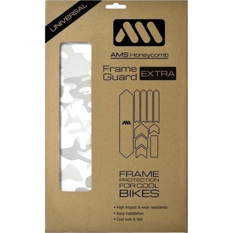 All Mountain Style AMS Frame Guard XL White Camo
