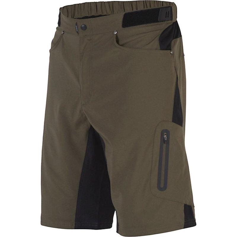 ZOIC Ether Short + Essential Liner  Brown Medium