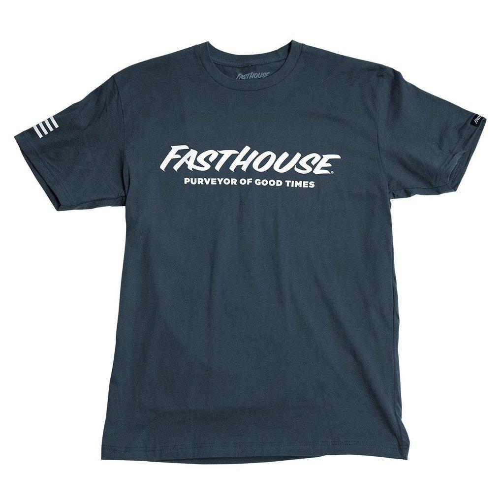 Fasthouse Logo Tee - Indigo