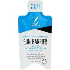 zealios Sun Barrier SPF 45 Pocket Packet