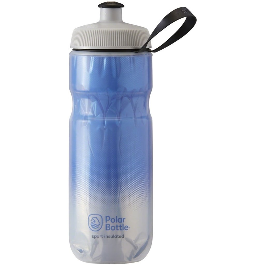 Polar Bottle Polar Bottle Sport Insulated Bottle, 20oz - Fade Royal Blue/Silver