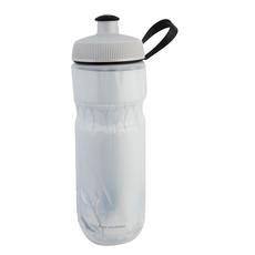 Polar Bottles Sport Fade Insulated Water Bottle - 20oz, White/Silver