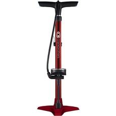 Crank Brothers Gem Floor Pump - Stamped Base - Red