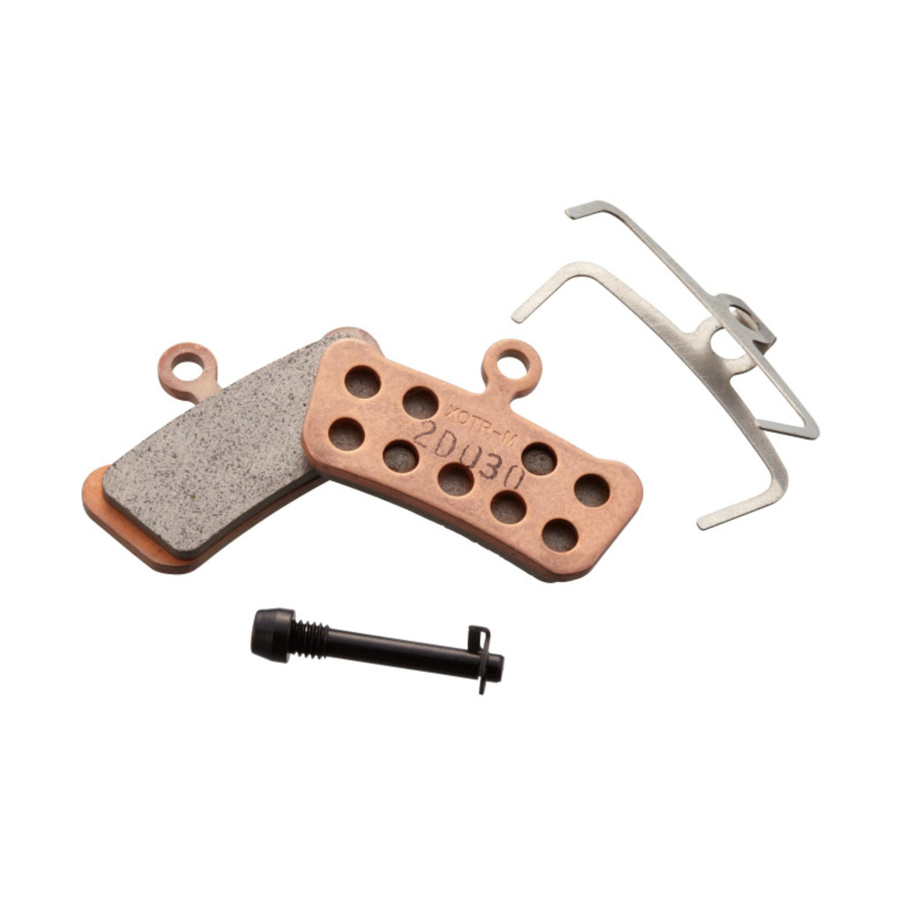 SRAM SRAM Disc Brake Pads - Organic Compound, Steel Backed, Quiet, For Trail, Guide, and G2