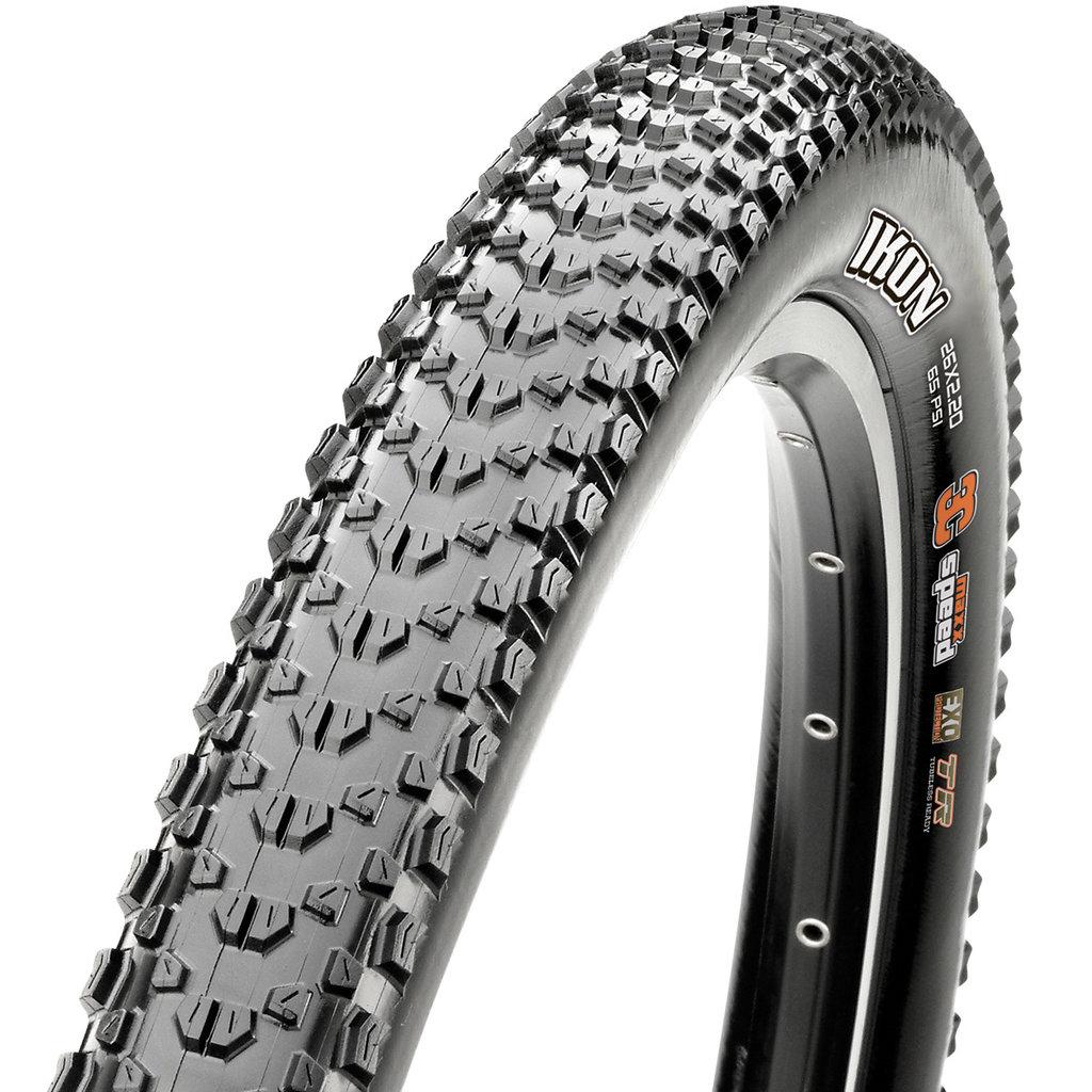 Maxxis Maxxis Ikon Tire - 29 x 2.6, Tubeless, Folding, Black, 3C Maxx Speed, EXO