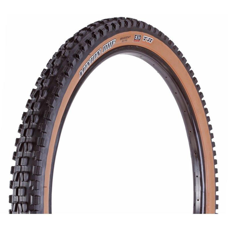 Maxxis Minion DHF Tire - 29 x 2.5, Tubeless, Folding, Black, Dual, EXO, Wide Trail