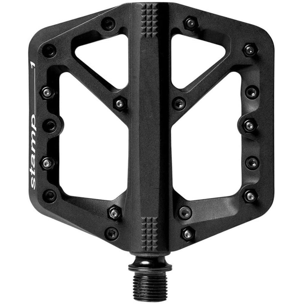 "Crank Brothers Crank Brothers Stamp 1 Pedals - Platform, Composite, 9/16"", Black, Small"