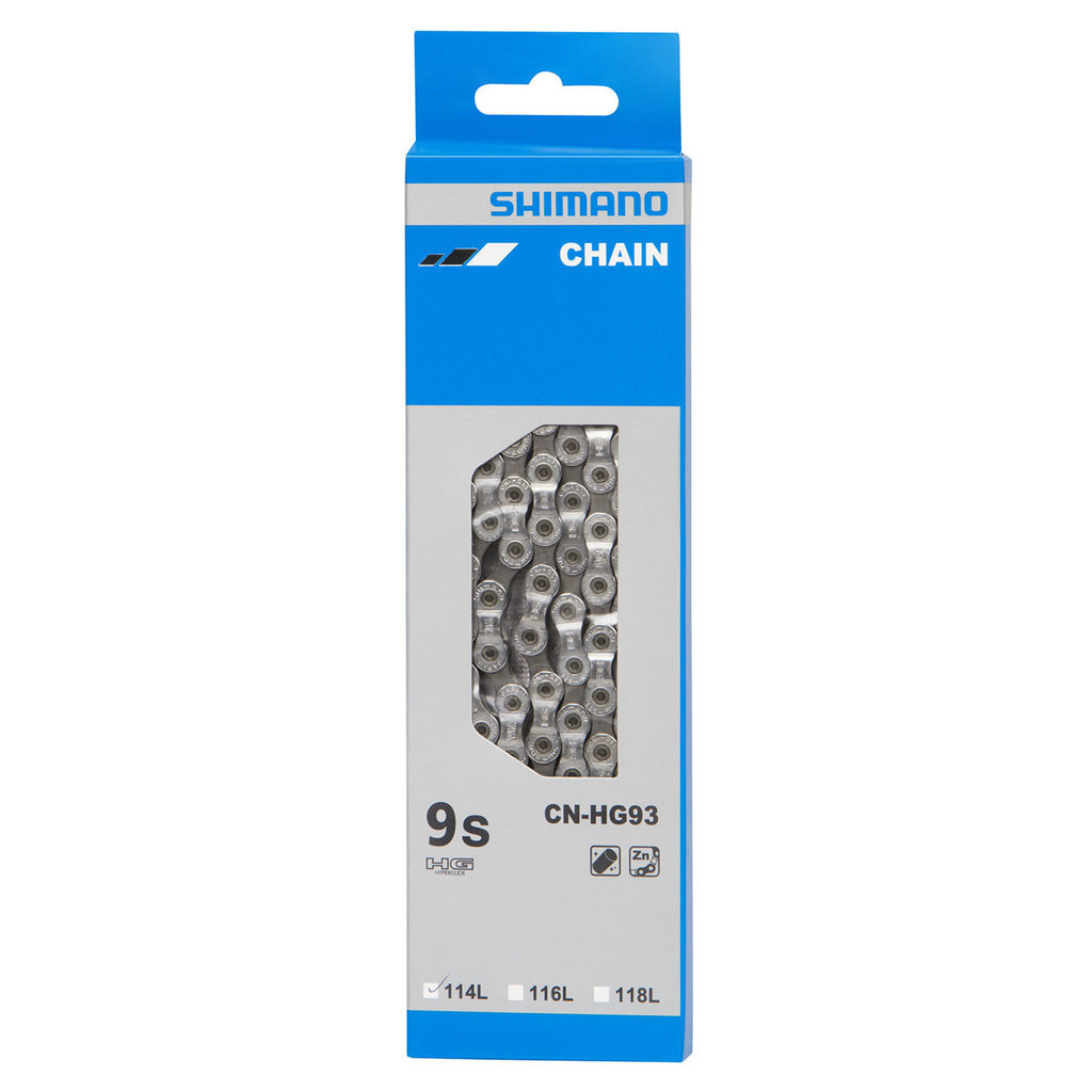 Shimano CN-HG93 SUPER NARROW CHAIN FOR 9-SPEED