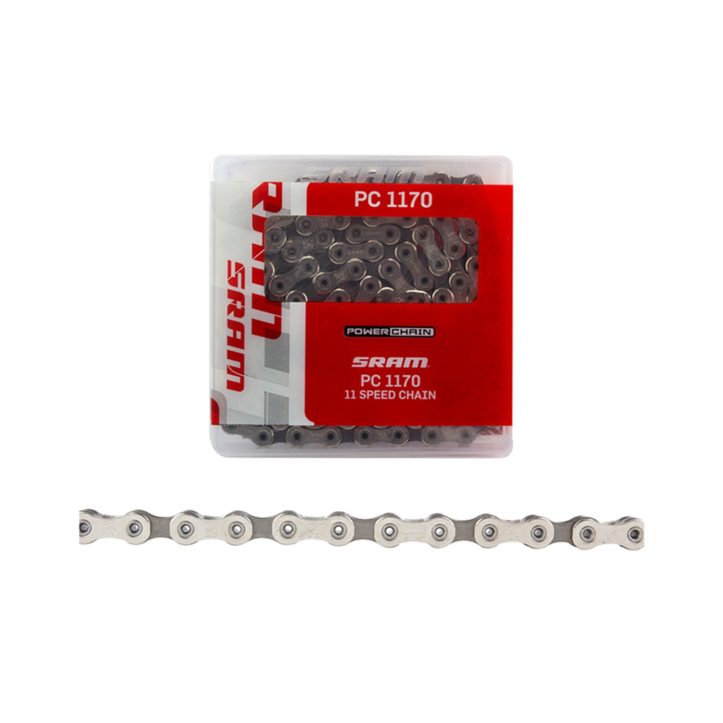 SRAM SRAM PC-1170 Chain - 11-Speed, 120 Links, Silver/Gray