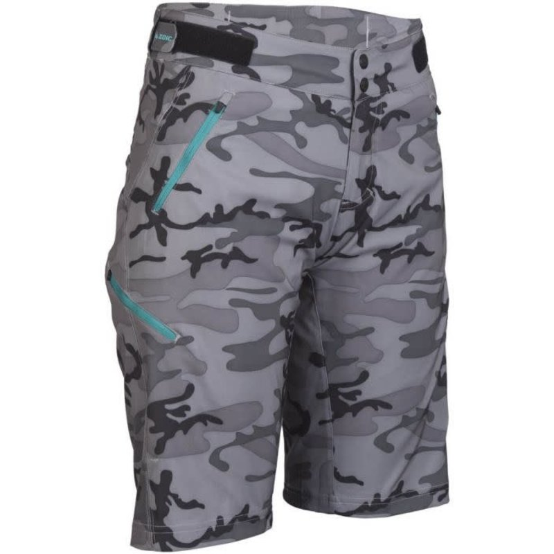 ZOIC Navaeh Camo Shorts - Grey Camo