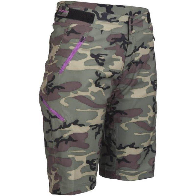 ZOIC Navaeh Camo Shorts - Green Camo