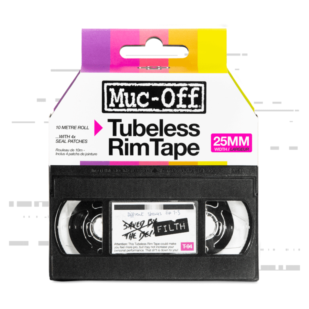 Muc-Off Muc-Off Rim Tape 50m Workshop Roll - 25mm