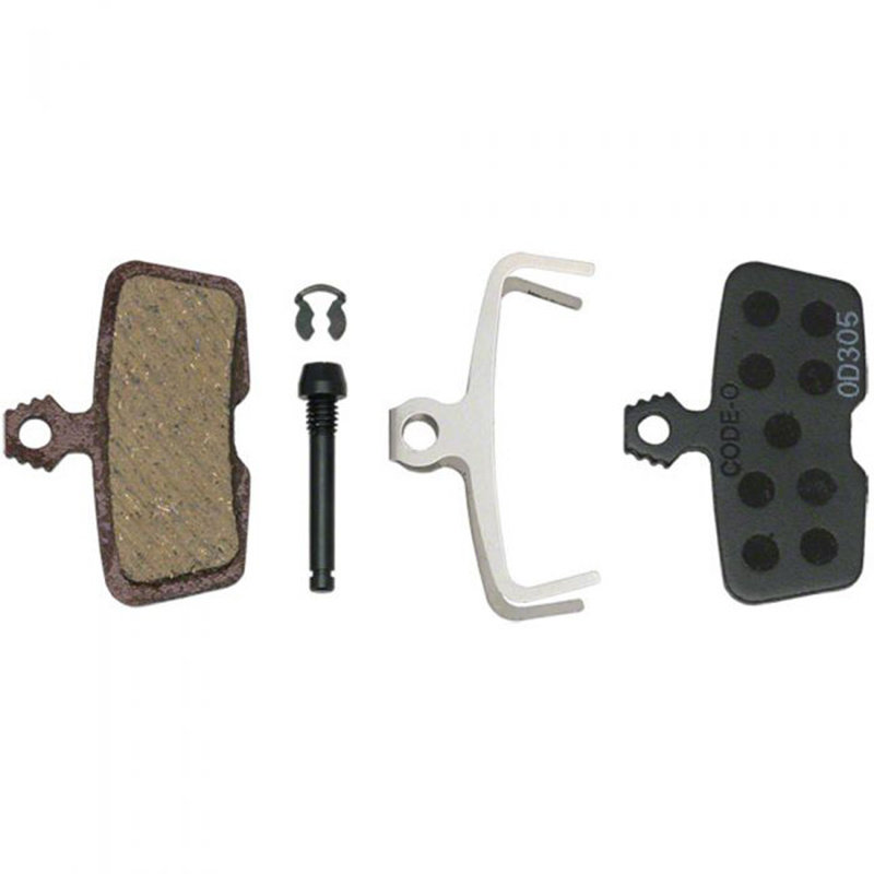 SRAM SRAM Disc Brake Pads - Organic Compound, Steel Backed, Quiet, For Code/Code R/Code RSC/Guide RE