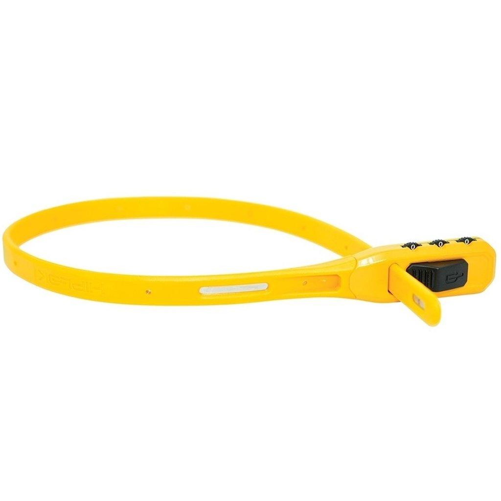 Hiplok Hiplok Z-Lok Combo Security Tie Lock Single: Yellow