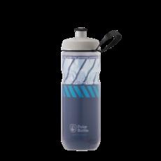 Polar Bottles Polar Bottles Sport Insulated Contender Water Bottle - 24oz, Blue/Silver