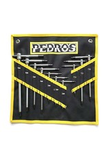 Pedros Master T-Handle Set W/Pouch