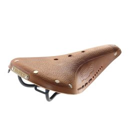 Brooks Brooks, B17 Standard, Saddle, 275 x 175mm, Men, 520g, Pre-aged Dark Tan with laces