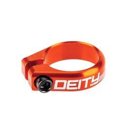 Deity Deity, Circuit, Seatpost Clamp, 34.9mm, Orange