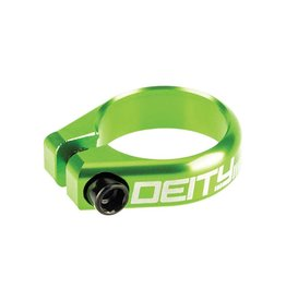 Deity Deity, Circuit, Seatpost Clamp, 34.9mm, Green