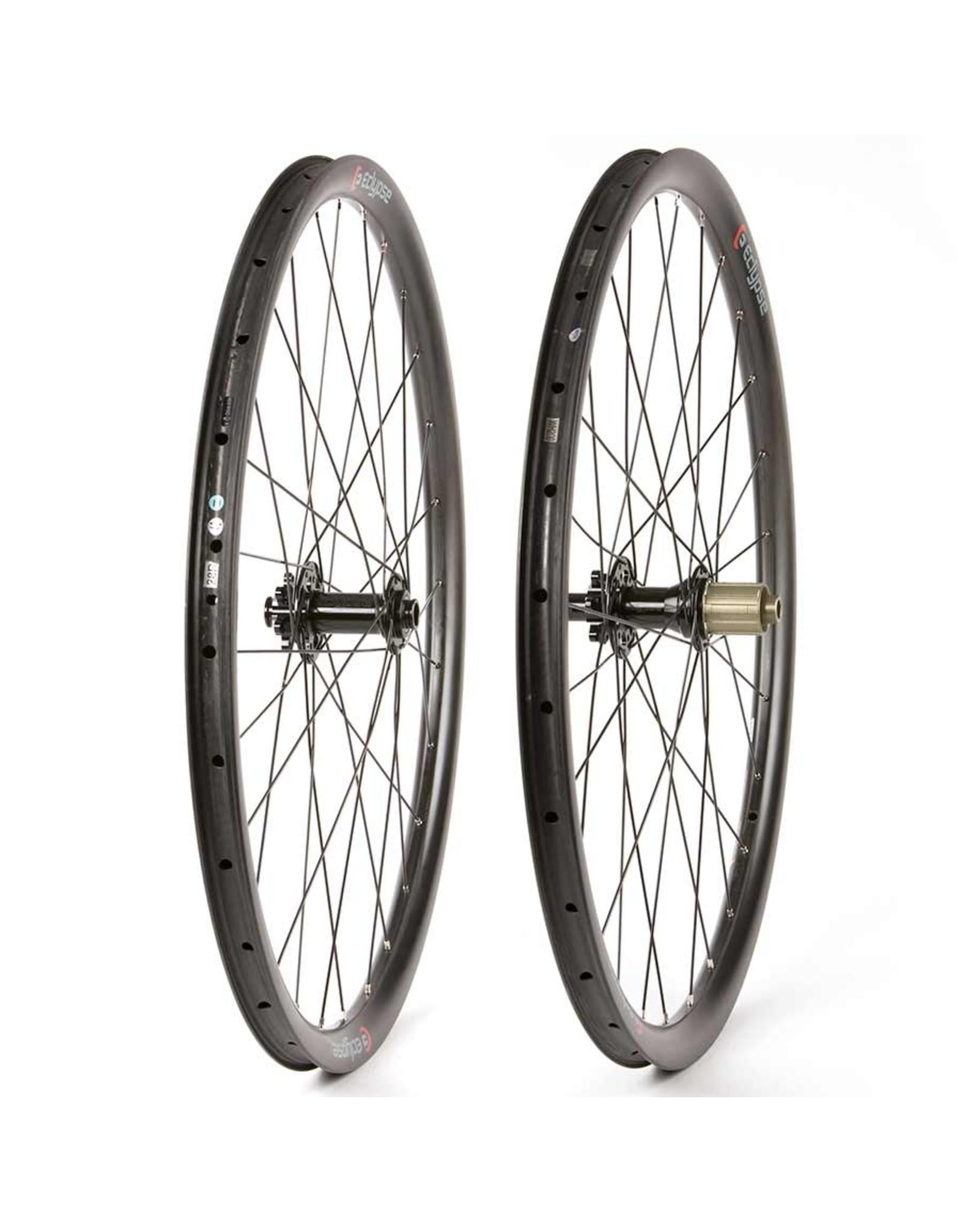 Eclypse, S9 Gravel 650B, Wheel, Front and Rear, 650B / 584, Holes: F: 28, R: 28, 12mm TA, F: 100, R: 142, Disc Center Lock, SRAM XD-R, Pair