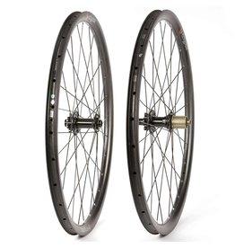 Eclypse, S9 Gravel 650B, Wheel, Front and Rear, 650B / 584, Holes: F: 28, R: 28, 12mm TA, F: 100, R: 142, Disc Center Lock, Shimano HG 11, Pair