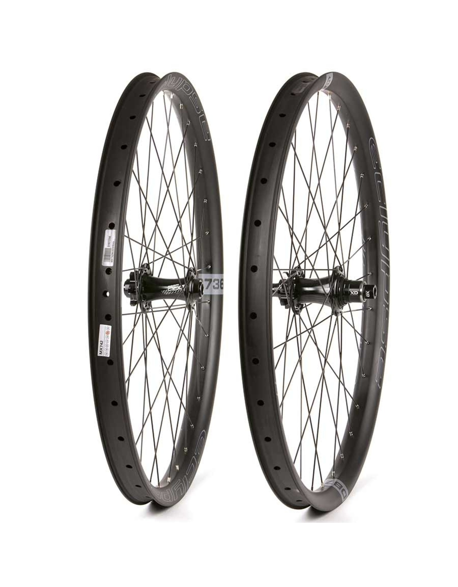 Eclypse, DB736 Wide Trail Boost XD, Wheel, Front and Rear, 27.5'' / 584, Holes: F: 32, R: 32, F: 15mm, R: 12mm, F: 110, R: 148, Disc IS 6-bolt, SRAM XD, Pair