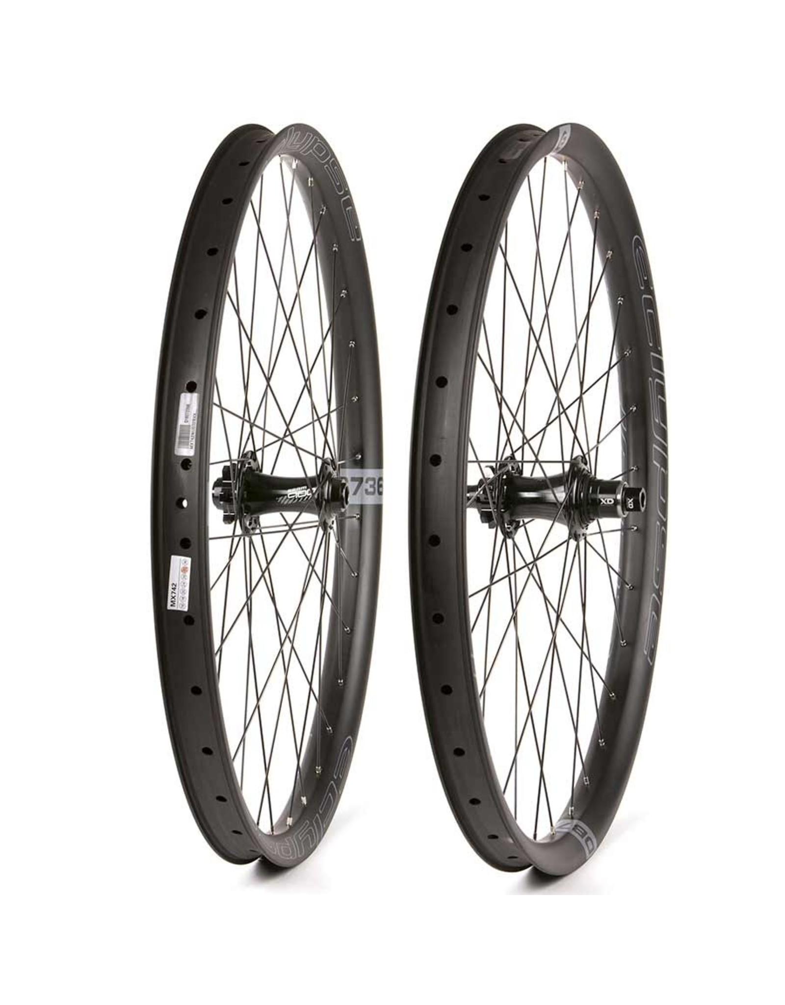 Eclypse Eclypse, DB736 Wide Trail Boost XD, Wheel, Front and Rear, 27.5'' / 584, Holes: F: 32, R: 32, F: 15mm, R: 12mm, F: 110, R: 148, Disc IS 6-bolt, SRAM XD, Pair