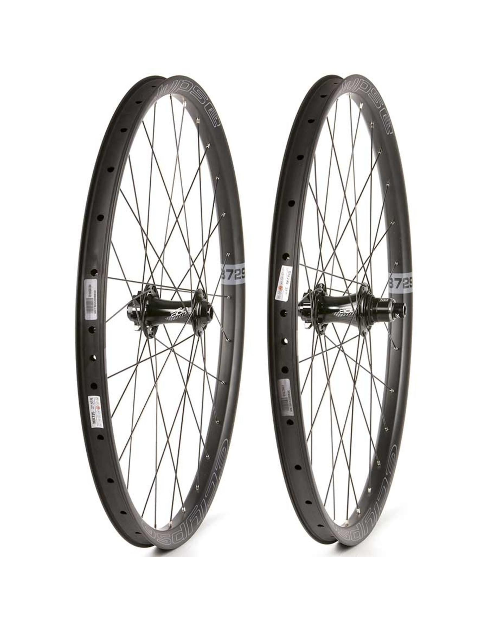 Eclypse Eclypse, DB729 Trail Boost XD, Wheel, Front and Rear, 27.5'' / 584, Holes: F: 28, R: 28, F: 15mm, R: 12mm, F: 110, R: 148, Disc IS 6-bolt, SRAM XD, Pair