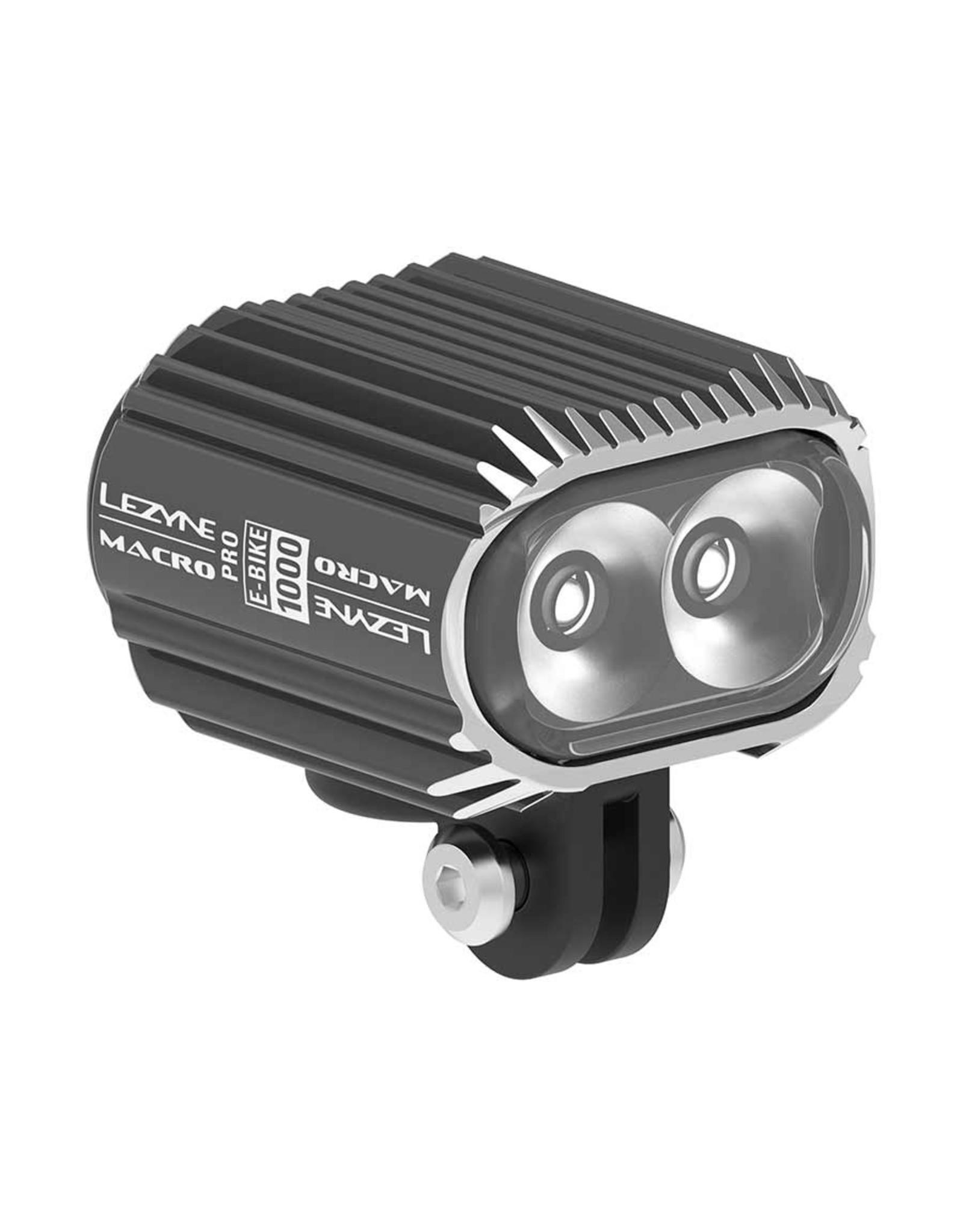 Lezyne Lezyne, E-Bike Macro Drive 1000, Light, Front, Black