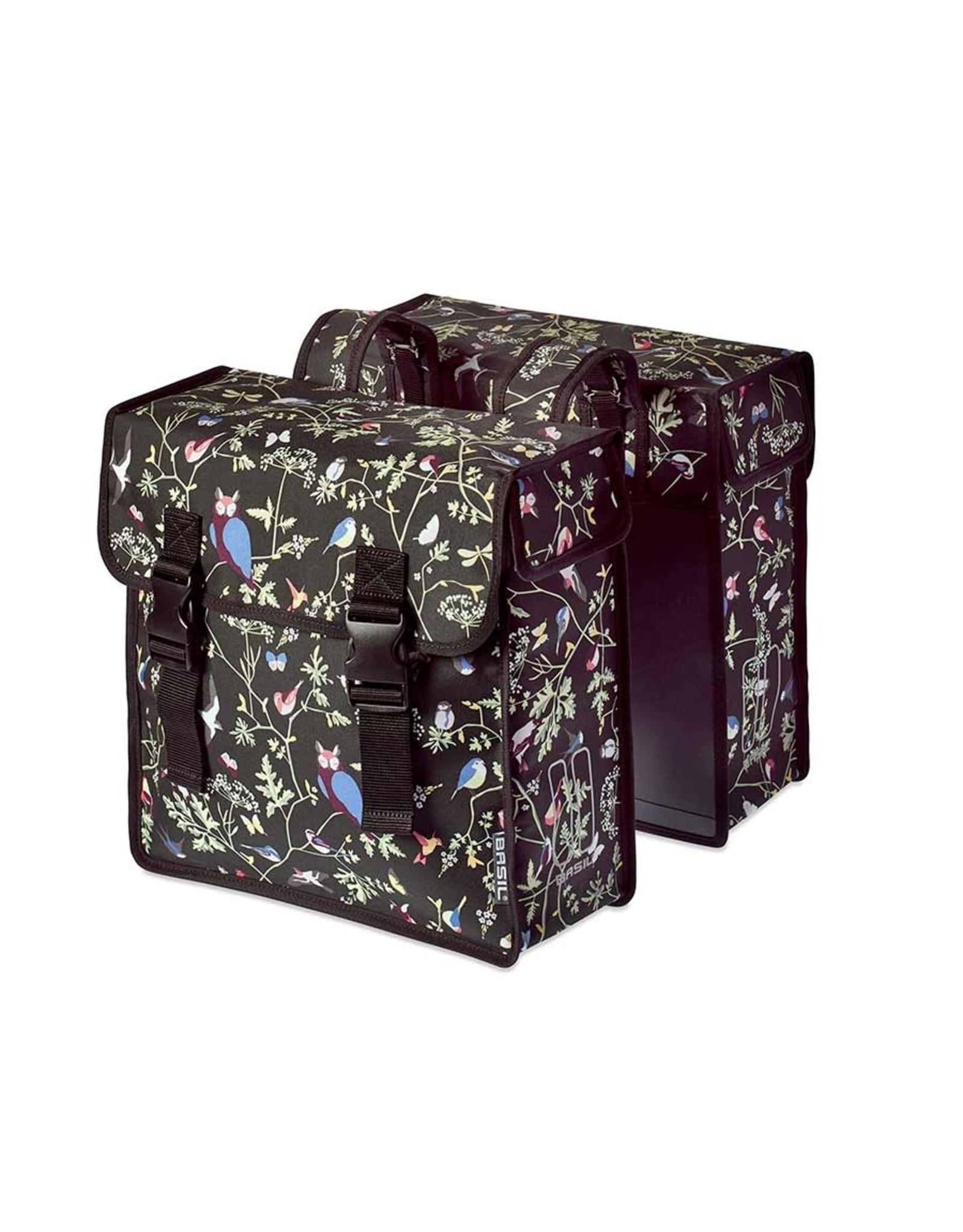 Basil Wanderlust Double Bag, Double bag, Charcoal