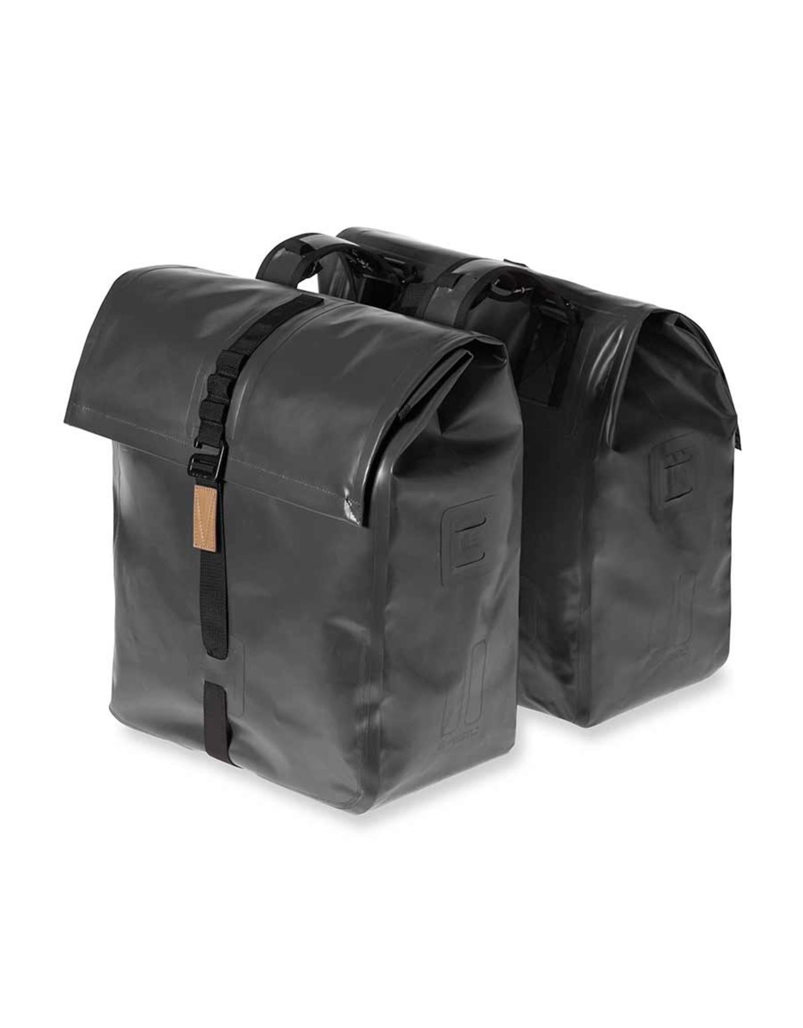 Basil Basil, Urban Dry Double Bag, Double bag, Solid Black