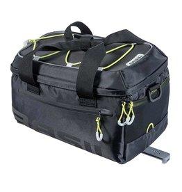 Basil, Miles MIK, Trunk Bag, 7L, Black/Lime