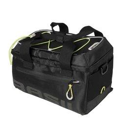 Basil, Miles, Trunk Bag, 7L, Black/Lime