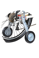 EVO EVO, Mobility Multi-Fit, Training wheels, Fits 24'' to 700C, Maximum rider weight 200lbs