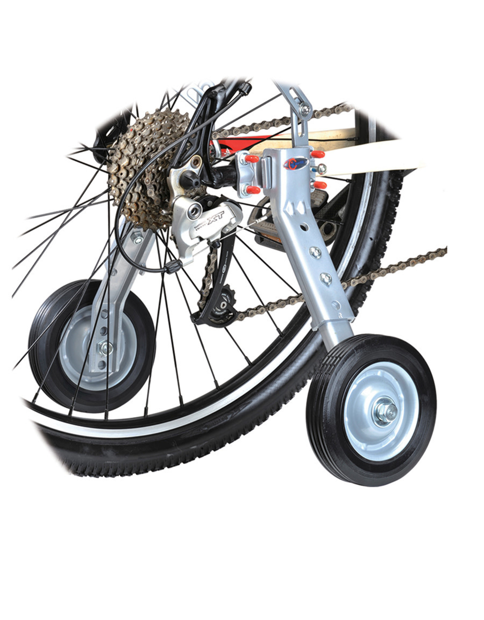 EVO, Mobility Multi-Fit, Training wheels, Fits 24'' to 700C, Maximum rider weight 200lbs