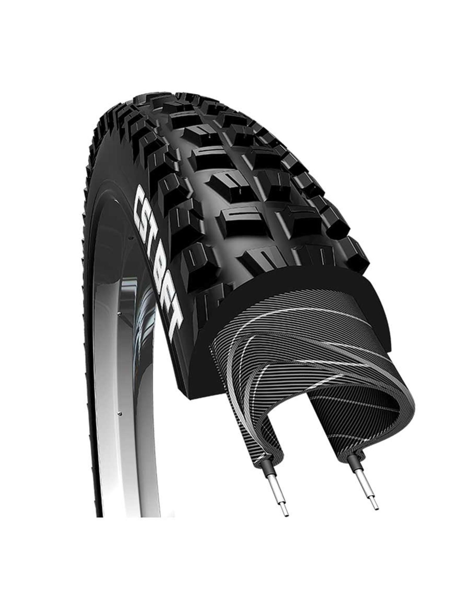 CST CST, BFT C1752, Tire, 27.5''x2.40, Folding, Tubeless Ready, Single, EPS, 60TPI, Black