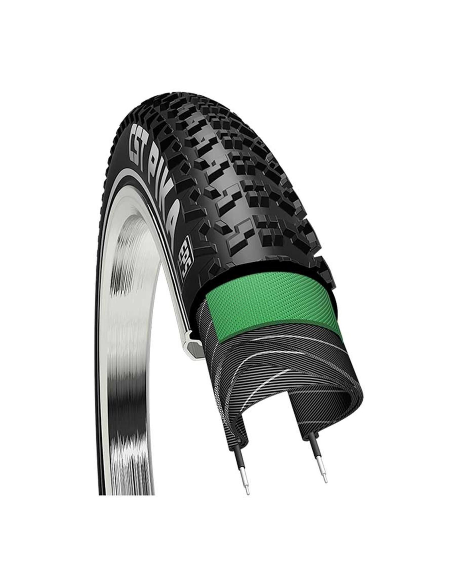 CST CST, Pika C1894, Tire, 700x38C, Wire, Clincher, Dual, EPS, 60TPI, Black
