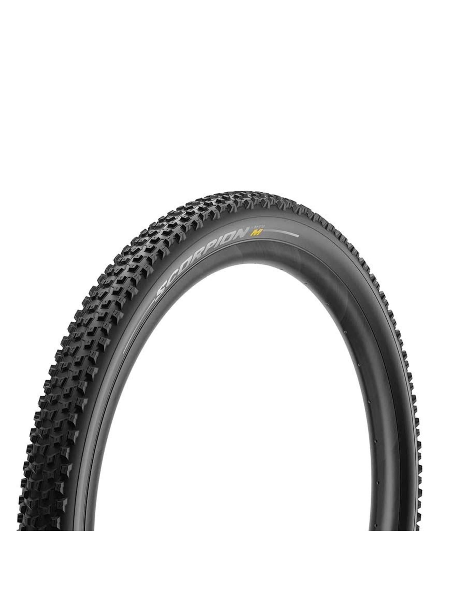 Pirelli Pirelli, Scorpion MTB M, Tire, 27.5''x2.40, Folding, Tubeless Ready, Smartgrip, Hyperwall, 127TPI, Black