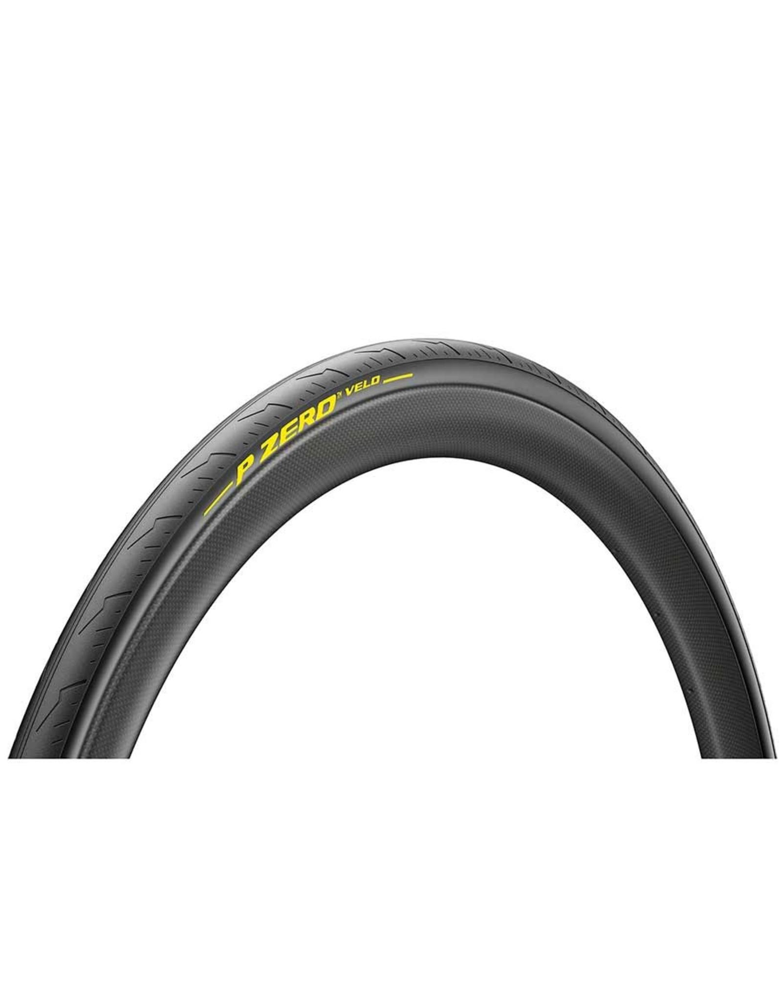 Pirelli, PZero Velo Tubular, Tire, 700x28C, Tubular, Smartnet Silica, 300TPI, Black