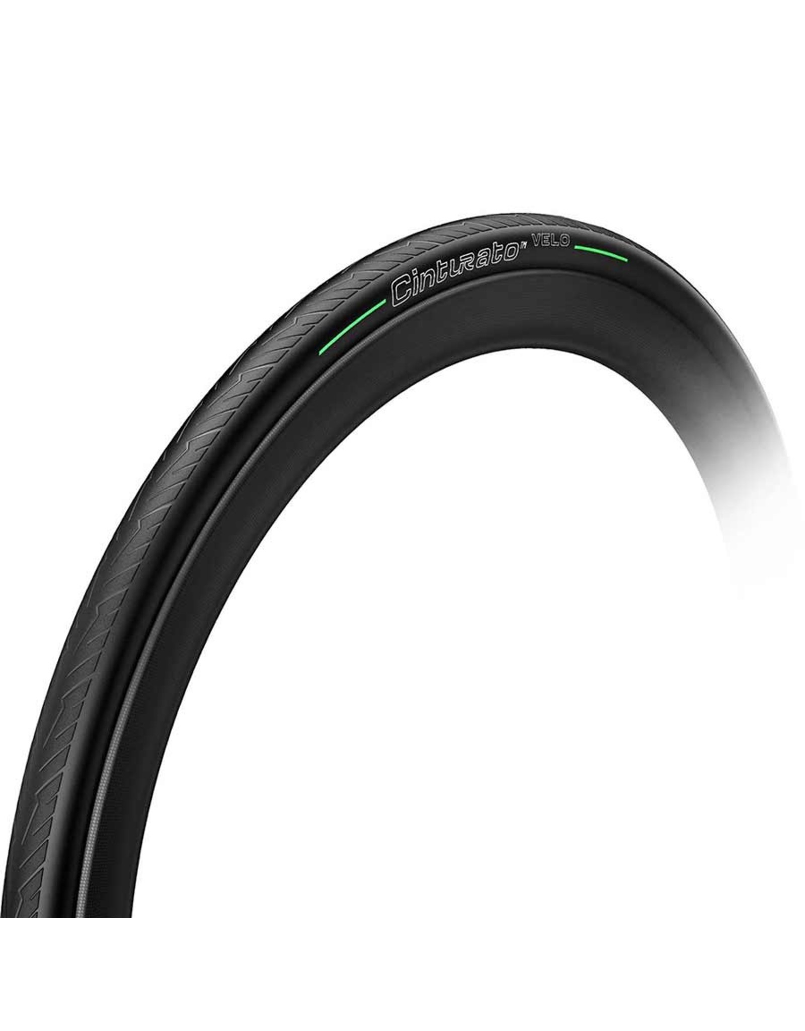 Pirelli, Cinturato Velo, Tire, 700x28C, Folding, Tubeless Ready, Smartnet Silica, 66TPI, Black