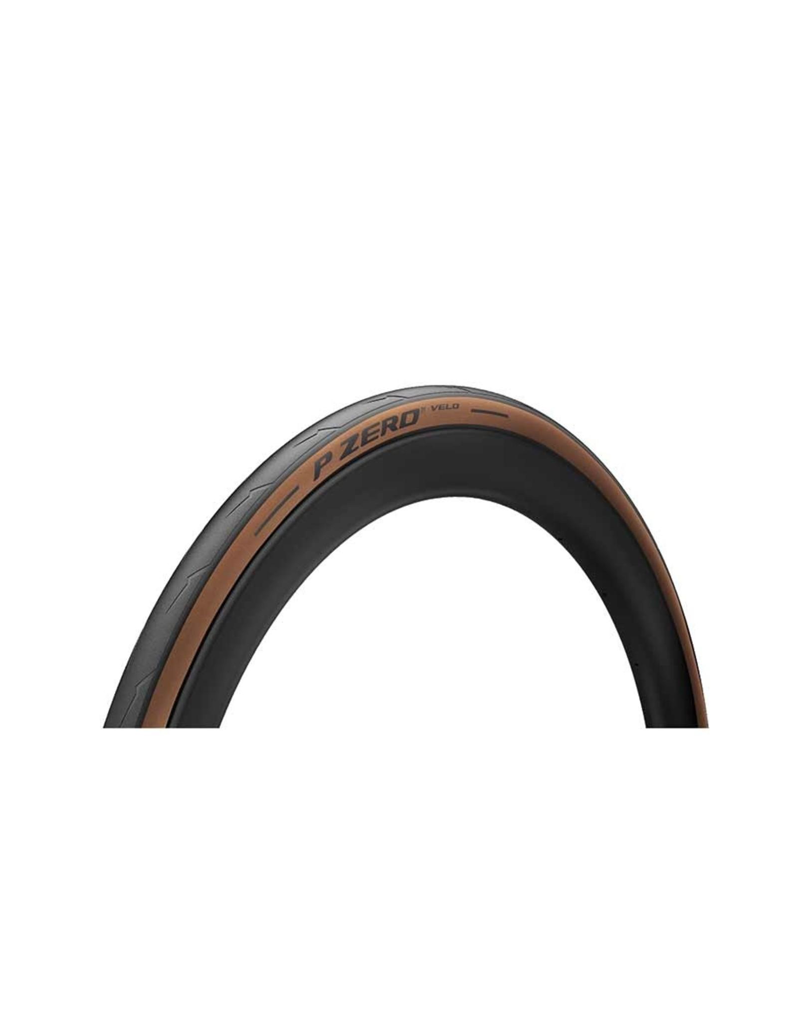 Pirelli Pirelli, PZero Velo, Tire, 700x25C, Folding, Clincher, Smartnet Silica, Aramid Fiber, 127TPI, Beige