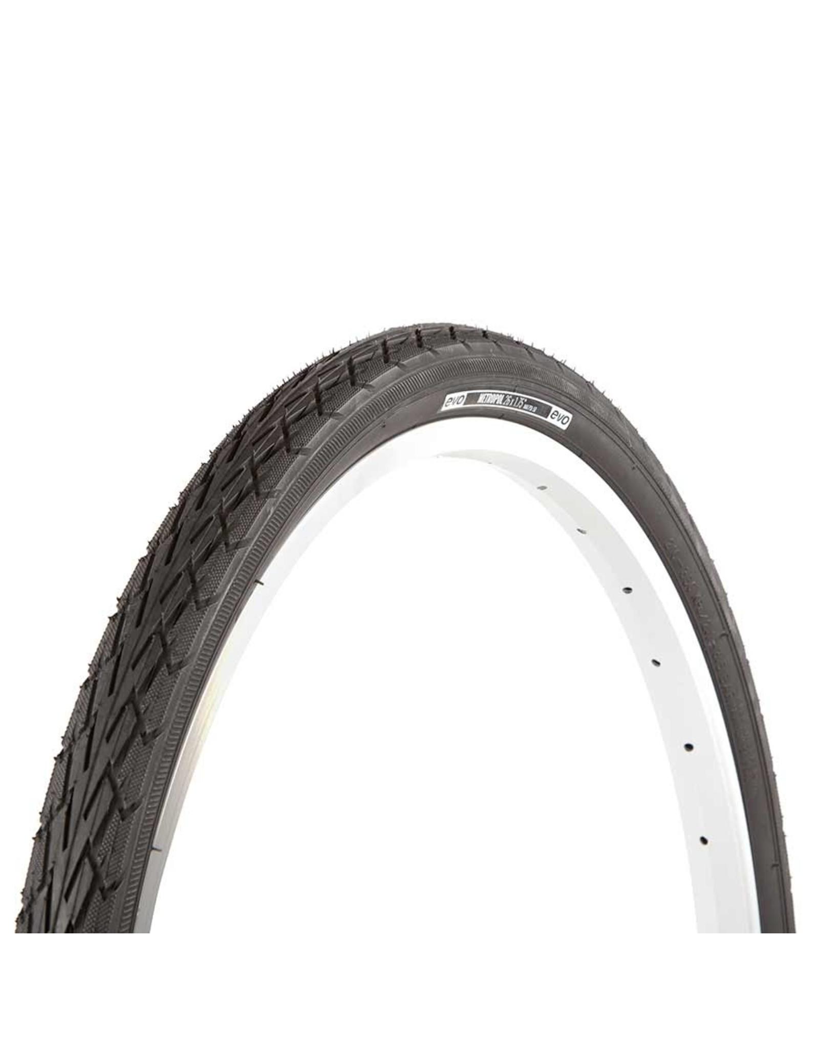 EVO, Metropol, Tire, 700x35C, Wire, Clincher, Black