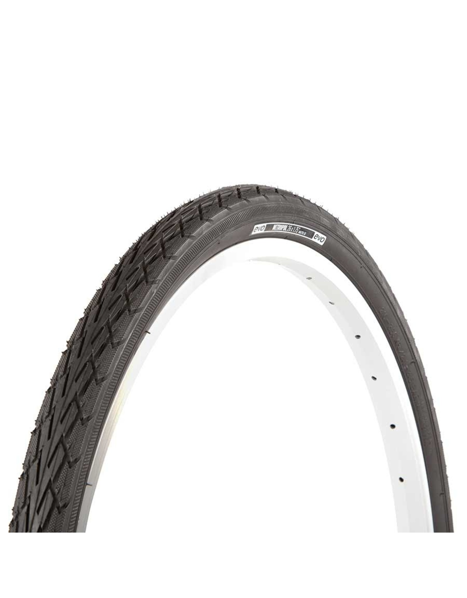 EVO, Metropol, Tire, 26''x1.75, Wire, Clincher, Black