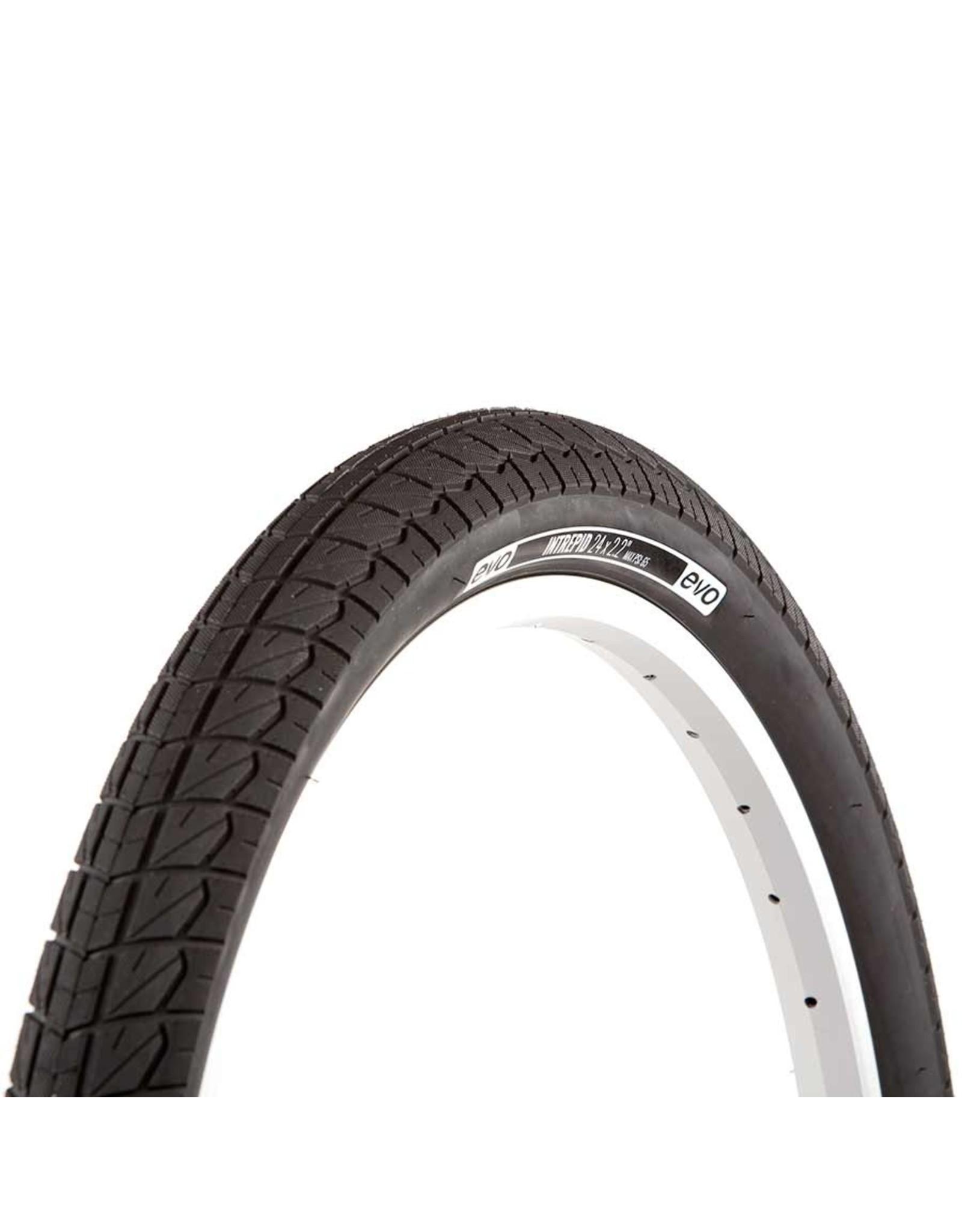 EVO EVO, Intrepid, Tire, 20''x2.40, Wire, Clincher, Black