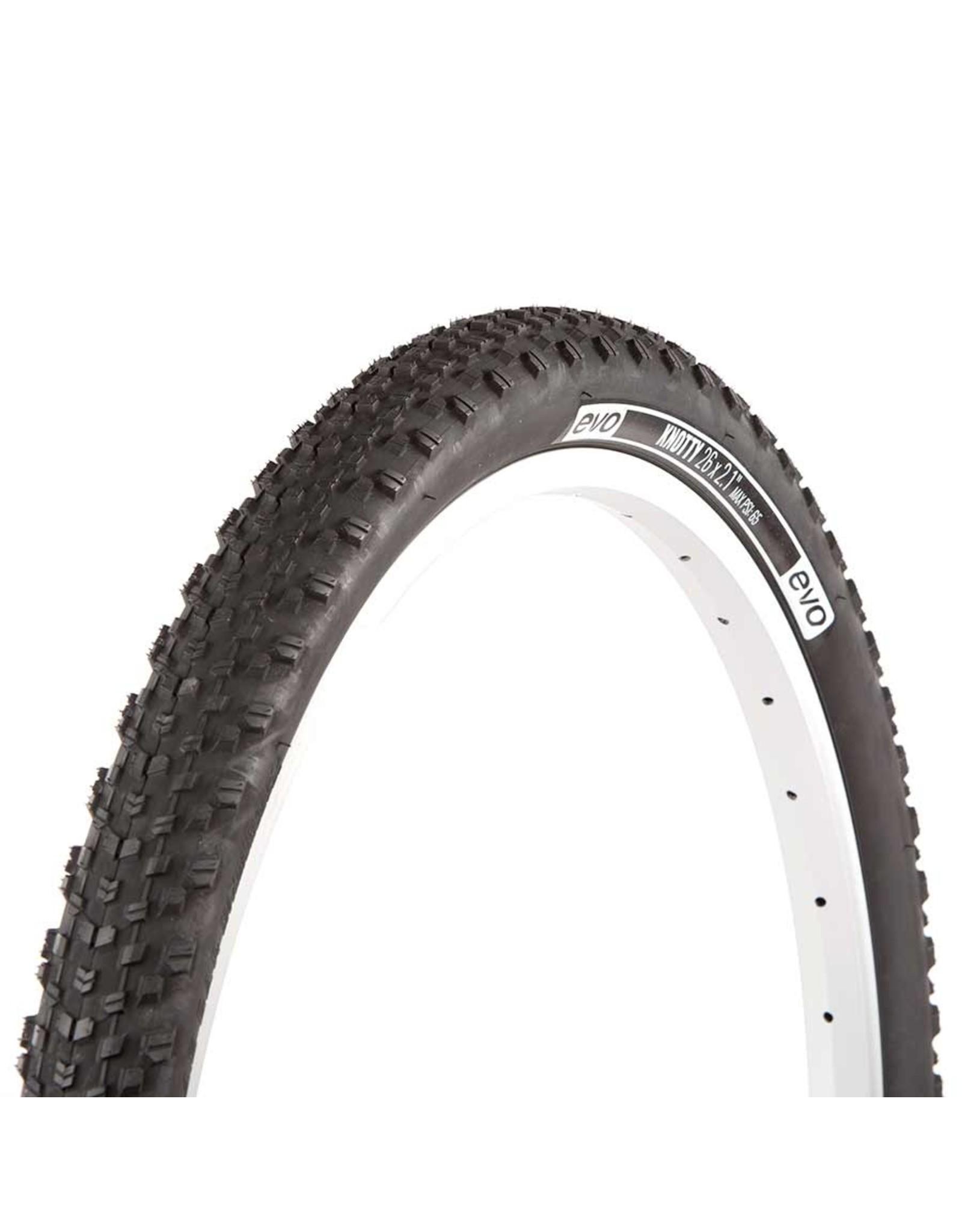 EVO, Knotty, Tire, 27.5''x3.00, Wire, Clincher, Black