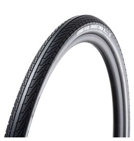 Goodyear Goodyear, Transit Tour, Tire, 700x50C, Wire, Clincher, Dynamic:Silica4, S3: Shell, 60TPI, Black