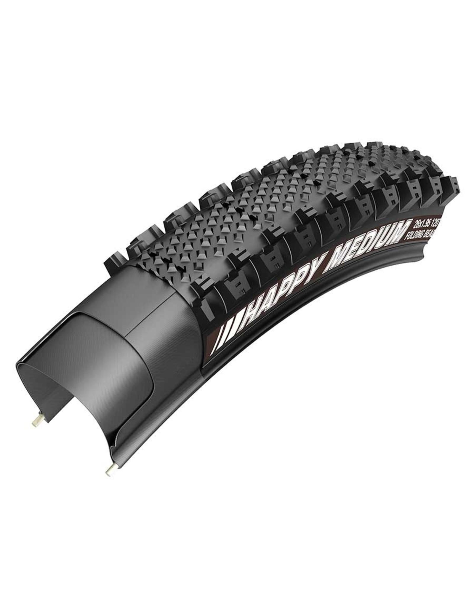 Kenda Kenda, Happy Medium Pro, Tire, 700x40C, Folding, Clincher, SRC, 120TPI, Black