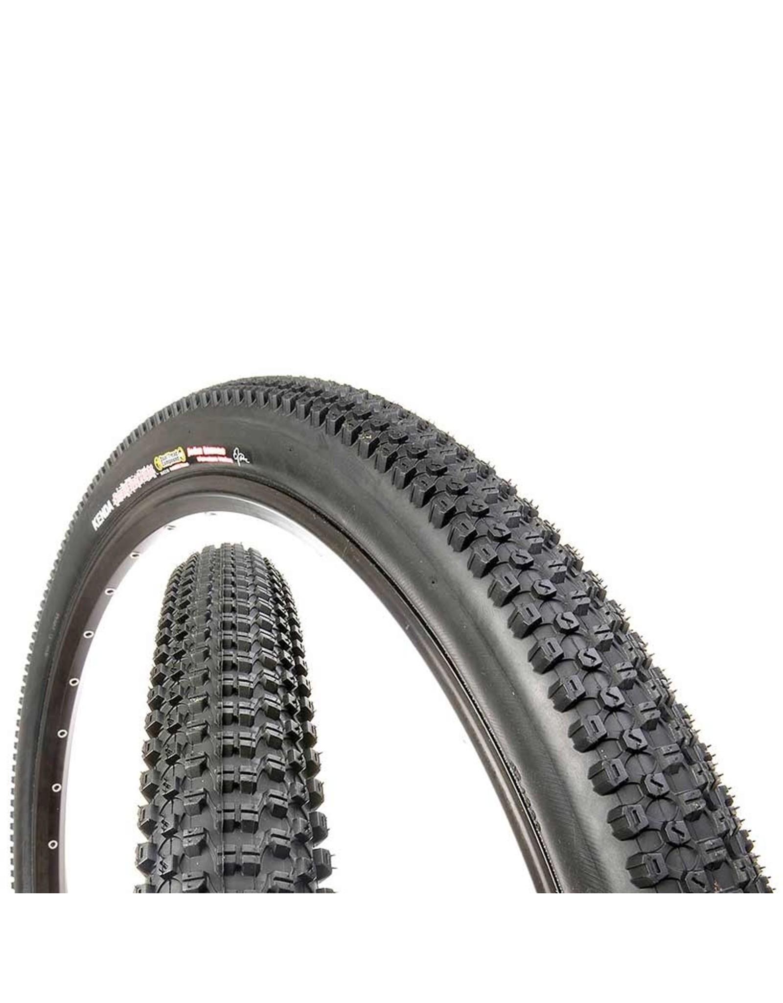 Kenda, Small Block 8, Tire, 700x35C, Folding, Clincher, DTC, 120TPI, Black