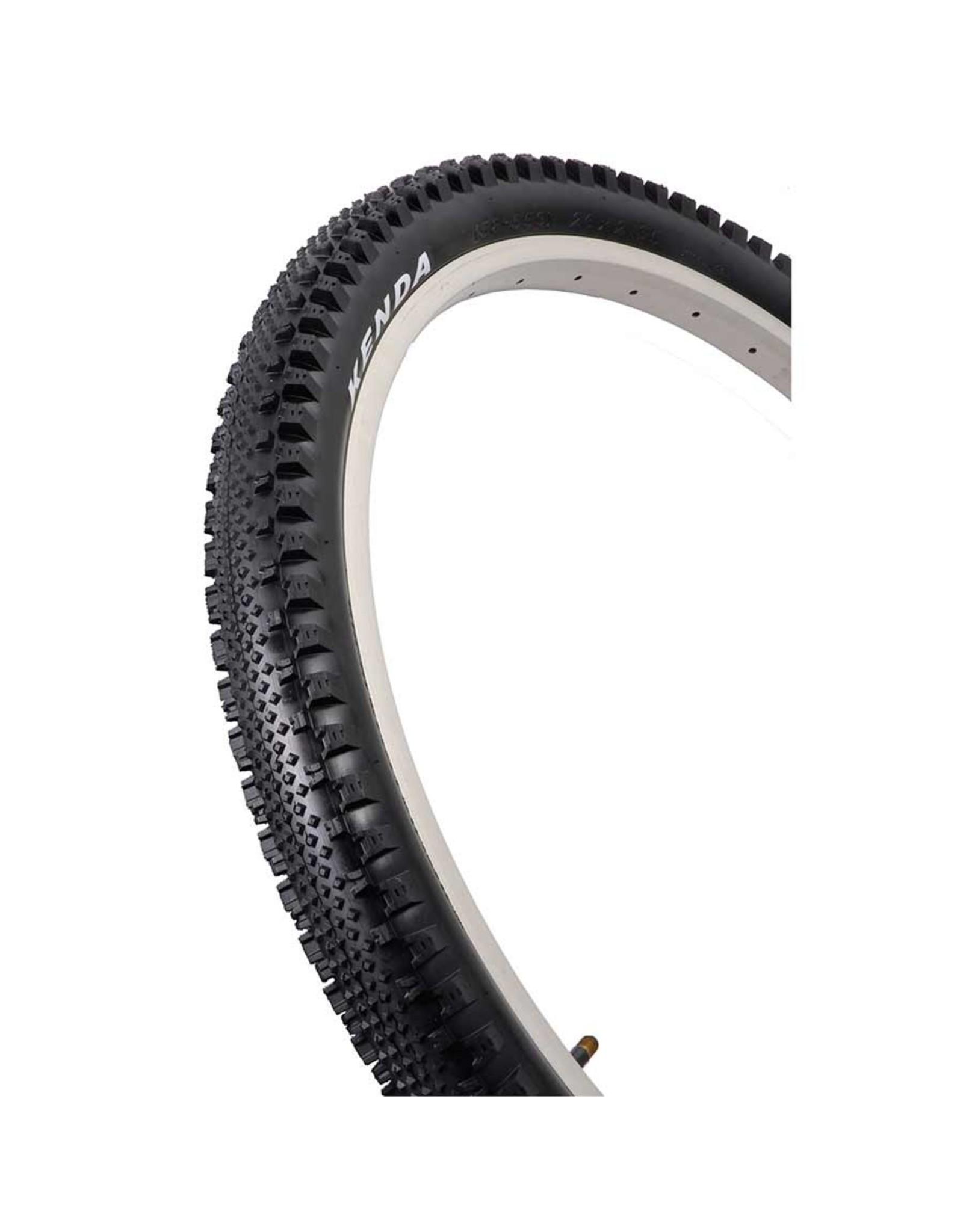 Kenda Kenda, Happy Medium, Tire, 29''x2.10, Folding, Clincher, DTC, 120TPI, Black
